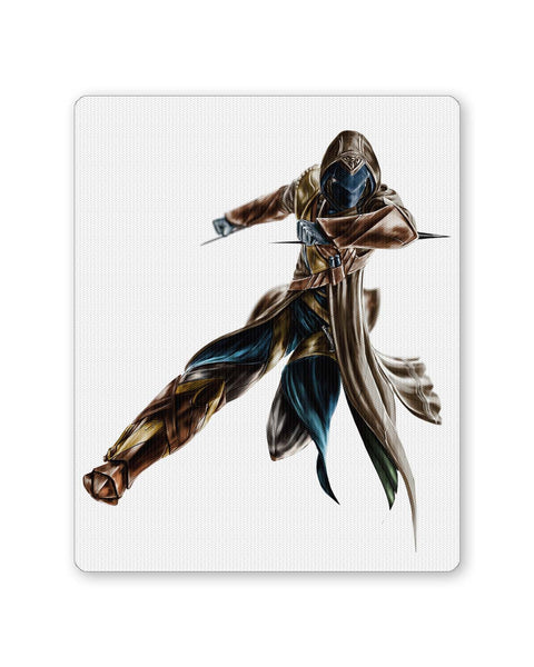Buy Mousepads Online India | Assassin's Creed Fan Art illustration Mouse Pad Online India