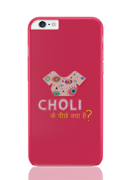 iPhone 6 Plus / 6S Plus Covers & Cases | Choli Ke Peeche Kya Hai(Pink) iPhone 6 Plus / 6S Plus Covers and Cases Online India