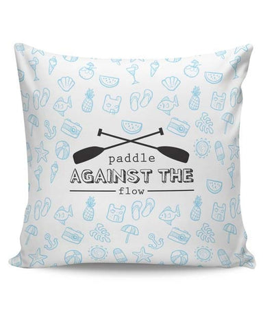 PosterGuy | Paddle Against The Flow Cushion Cover Online India