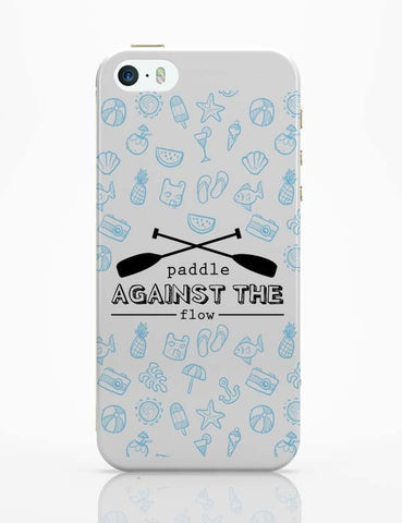 iPhone 5 / 5S Cases & Covers | Paddle Against The Flow iPhone 5 / 5S Case Online India