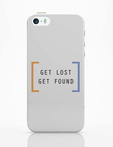 iPhone 5 / 5S Cases & Covers | Get Lost, Get Found iPhone 5 / 5S Case Online India