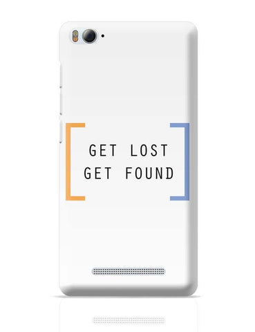 Xiaomi Mi 4i Covers | Get Lost, Get Found Xiaomi Mi 4i Case Cover Online India