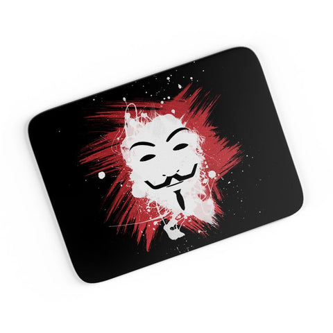 V For Vendetta Inspired Anonymous A4 Mousepad Online India