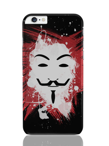 iPhone 6 Plus / 6S Plus Covers & Cases | V For Vendetta Inspired Anonymous iPhone 6 Plus / 6S Plus Covers and Cases Online India