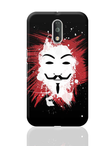 V For Vendetta Inspired Anonymous Moto G4 Plus Online India