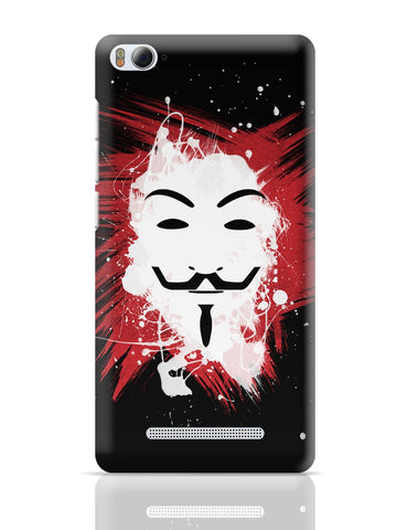 Xiaomi Mi 4i Covers | V For Vendetta Inspired Anonymous Xiaomi Mi 4i Cover Online India