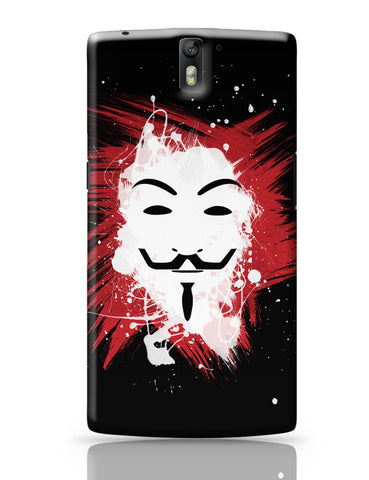 OnePlus One Covers | V For Vendetta Inspired Anonymous OnePlus One Cover Online India