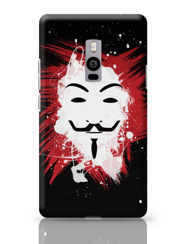 OnePlus Two Covers | V For Vendetta Inspired Anonymous OnePlus Two Cover Online India
