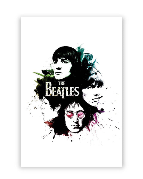 Posters Online | The Beatles Pop Art Poster Online India | Designed by: Lazy Artman