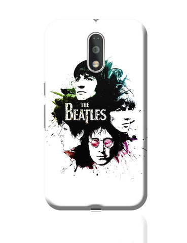 The Beatles Pop Art  Moto G4 Plus Online India