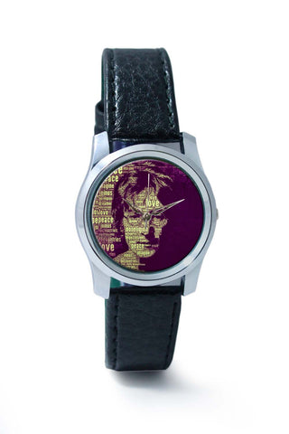 Women Wrist Watch India | John Lennon Typography Art Wrist Watch Online India