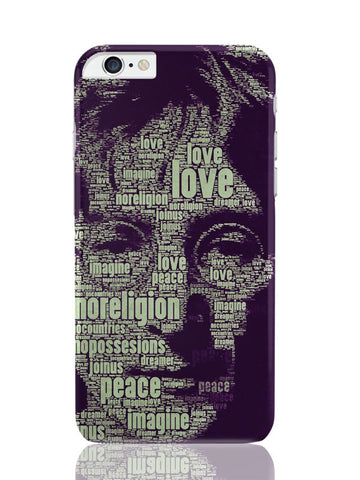 iPhone 6 Plus / 6S Plus Covers & Cases | John Lennon Typography Art iPhone 6 Plus / 6S Plus Covers and Cases Online India