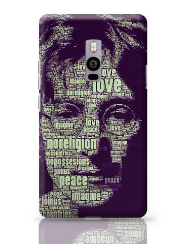OnePlus Two Covers | John Lennon Typography Art OnePlus Two Cover Online India