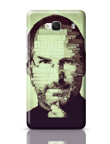 Xiaomi Redmi 2 / Redmi 2 Prime Cover| Steve Jobs Typographic Illustration Redmi 2 / Redmi 2 Prime Cover Online India