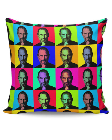 PosterGuy | Steve Jobs Pop Art Cushion Cover Online India