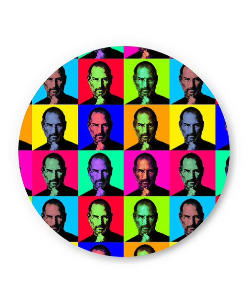PosterGuy | Steve Jobs Pop Art Fridge Magnet Online India by Lazy Artman