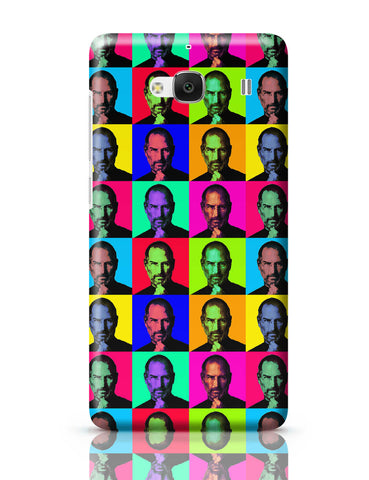 Xiaomi Redmi 2 / Redmi 2 Prime Cover| Steve Jobs Pop Art Redmi 2 / Redmi 2 Prime Cover Online India