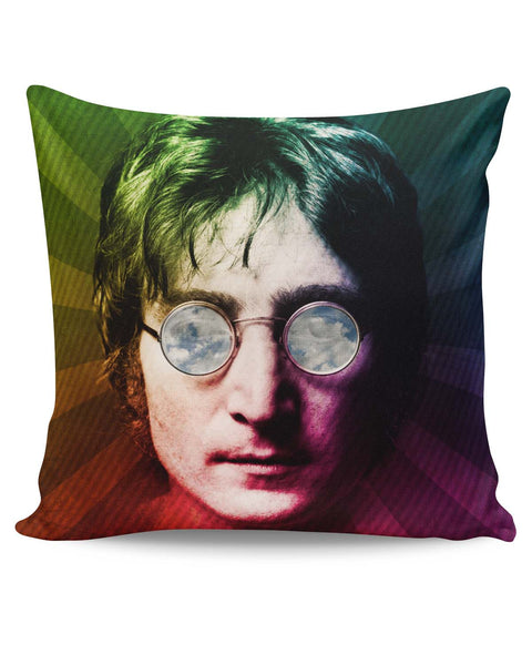PosterGuy | John Lennon Rainbow Pop Art Cushion Cover Online India