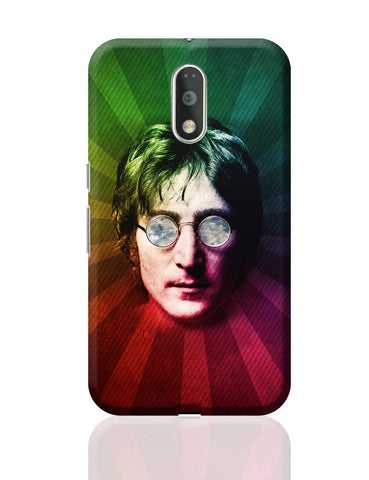 John Lennon Rainbow Pop Art Moto G4 Plus Online India