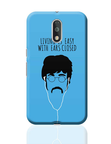 Living is Easy with Ears Closed (Green)| John Lennon Moto G4 Plus Online India