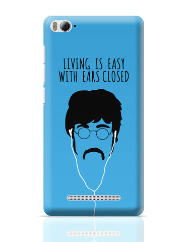 Xiaomi Mi 4i Covers | Living is Easy with Ears Closed (Green)| John Lennon Xiaomi Mi 4i Cover Online India