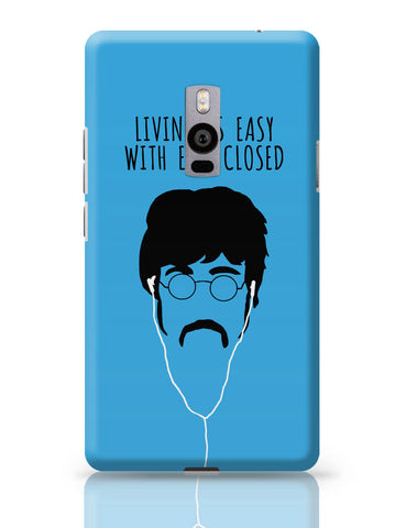 OnePlus Two Covers | Living is Easy with Ears Closed (Green)| John Lennon OnePlus Two Cover Online India