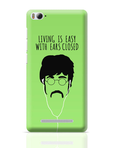 Xiaomi Mi 4i Covers | Living is Easy with Ears Closed (Pink)| John Lennon Xiaomi Mi 4i Cover Online India