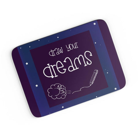 Draw Your Dreams Illustration A4 Mousepad Online India