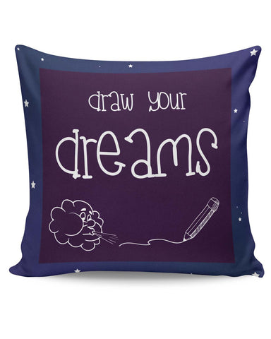 PosterGuy | Draw Your Dreams Illustration Cushion Cover Online India