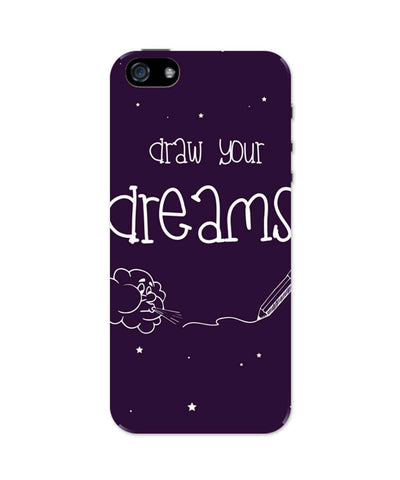 iPhone 5 / 5S Cases & Covers | Draw Your Dreams Illustration iPhone 5 / 5S Case Online India