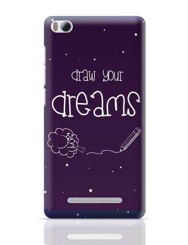 Xiaomi Mi 4i Covers | Draw Your Dreams Illustration Xiaomi Mi 4i Cover Online India