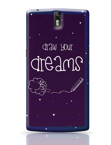 OnePlus One Covers | Draw Your Dreams Illustration OnePlus One Cover Online India