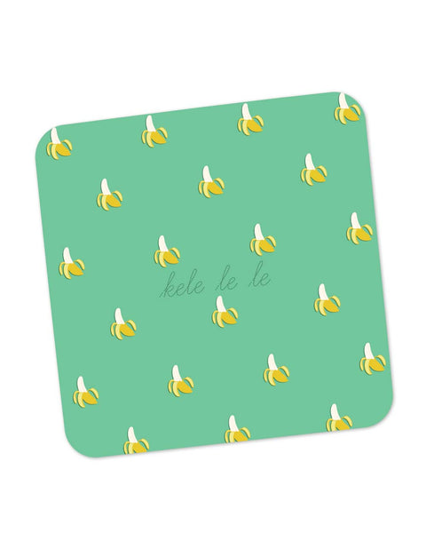 Buy Coasters Online | Kele Le le | Funny Patterns Coaster Online India | PosterGuy.in