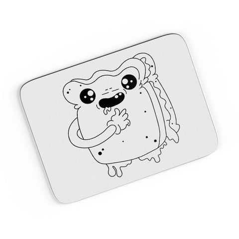 Cute Crying Sandwich A4 Mousepad Online India