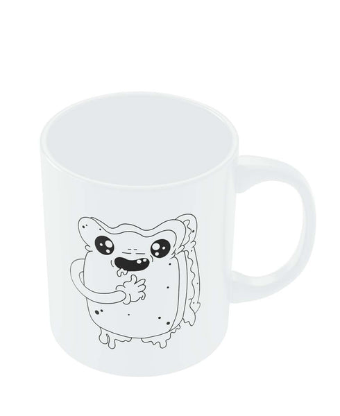 Coffee Mugs Online | Cute Crying Sandwich Mug Online India