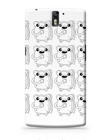 OnePlus One Covers | Cute Crying Sandwich OnePlus One Cover Online India
