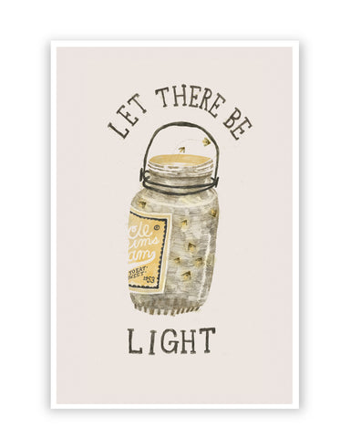 Posters Online | Let There Be Light Poster Online India | Designed by: Arjun_Art