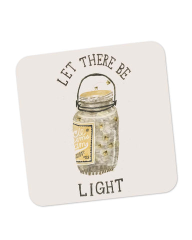 Buy Coasters Online | Let There Be Light Coaster Online India | PosterGuy.in