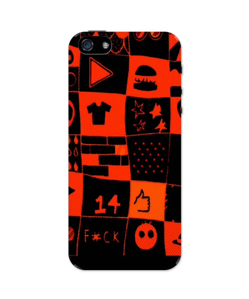 iPhone 5 / 5S Cases & Covers | Life at College Illustration iPhone 5 / 5S Case Online India
