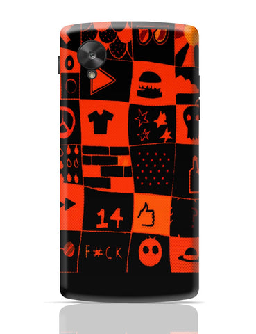 Google Nexus 5 Covers | Life at College Illustration Google Nexus 5 Cover Online India
