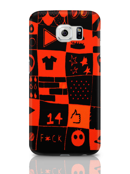 Samsung Galaxy S6 Covers & Cases | Life At College Illustration Samsung Galaxy S6 Covers & Cases Online India