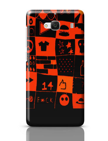 Xiaomi Redmi 2 / Redmi 2 Prime Cover| Life at College Illustration Redmi 2 / Redmi 2 Prime Cover Online India