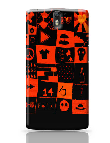 OnePlus One Covers | Life at College Illustration OnePlus One Cover Online India