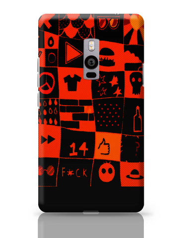 OnePlus Two Covers | Life at College Illustration OnePlus Two Cover Online India