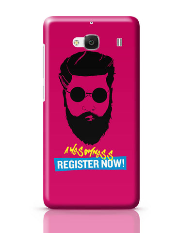 Xiaomi Redmi 2 / Redmi 2 Prime Cover| Awesomeness | Register Now ! Funny Illustration Redmi 2 / Redmi 2 Prime Cover Online India