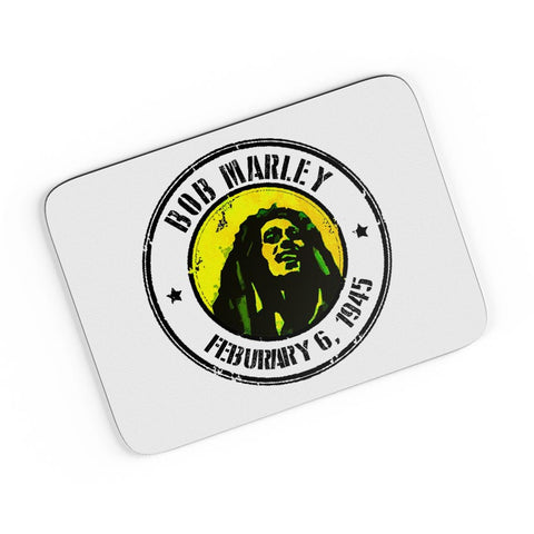 Bob Marley Artful Stamp A4 Mousepad Online India