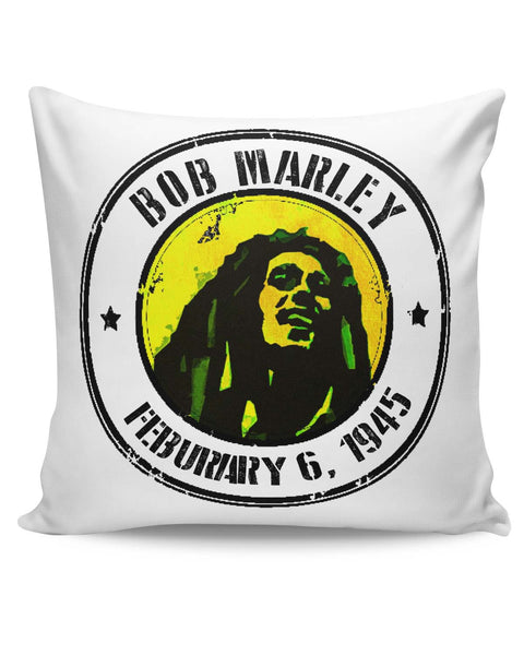 PosterGuy | Bob Marley Artful Stamp Cushion Cover Online India