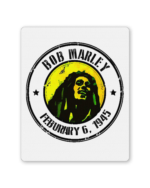 Buy Mousepads Online India | Bob Marley Artful Stamp Mouse Pad Online India