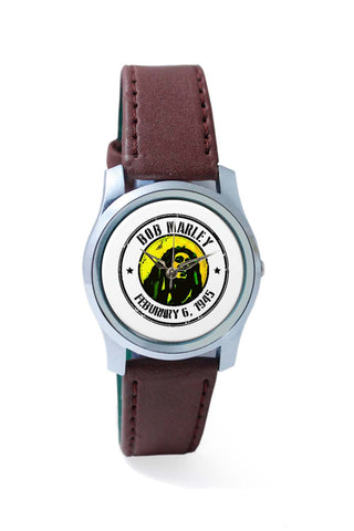 Women Wrist Watch India | Bob Marley Artful Stamp Wrist Watch Online India