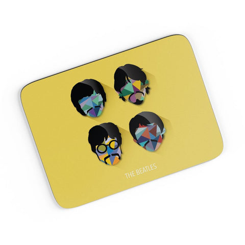 Beatles Pop Art Design | Fan Art A4 Mousepad Online India